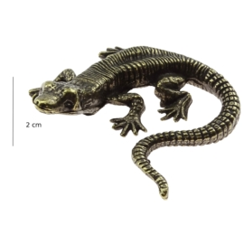 Figurka metalowa - jaszczurka FR58
