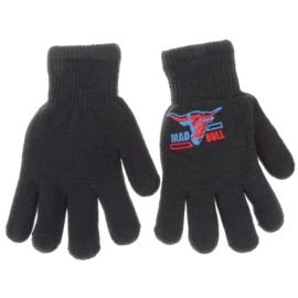 Rękawiczki chłopięce- grafitowe- długość 18cm RK71