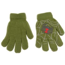 Rękawiczki chłopięce - zielone - długość 15cm RK83