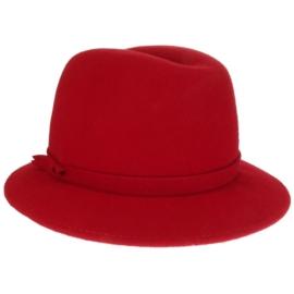 Kapelusz filcowy - czerwony 001 rozm.55 - F362B