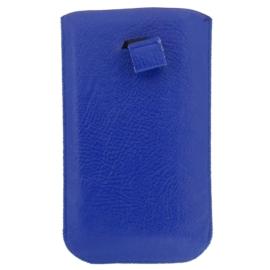 Etui na telefon - niebieskie - 17cm x 10cm ET3