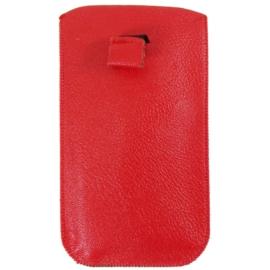 Etui na telefon - czerwone - 17cm x 10cm ET6