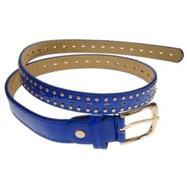 Pasek damski - niebieski - szer:2,5cm PE13