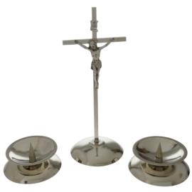 Komplet kolędowy - klasyczny srebrny JC7