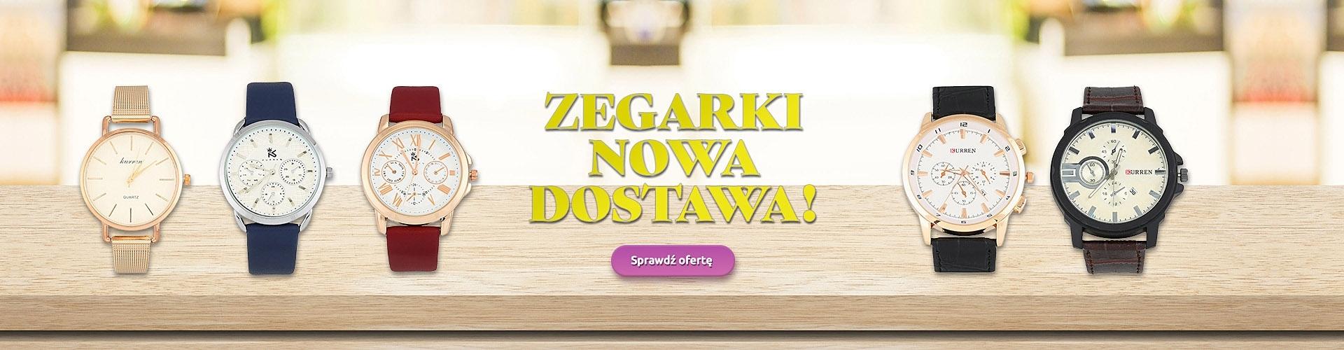 Nowa Dostawa Zegarków